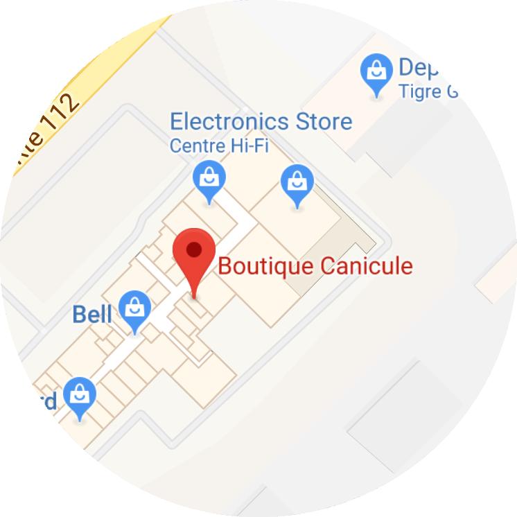 Service d'ajustement personnalisé - Boutique Canicule - Galeries Orford